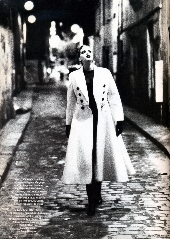 Vogue (UK) October 1991 | Nadja Auermann by Ellen Von Unwerth 05.jpg