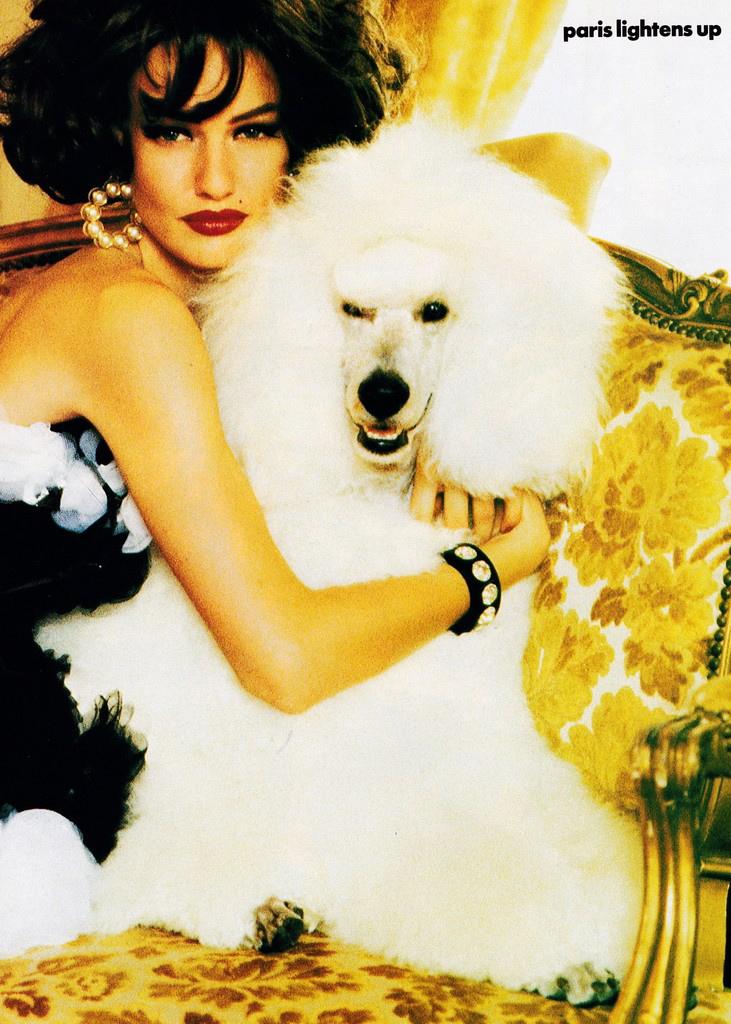 Vogue (US) October 1991 | Karen Mulder 12.jpg