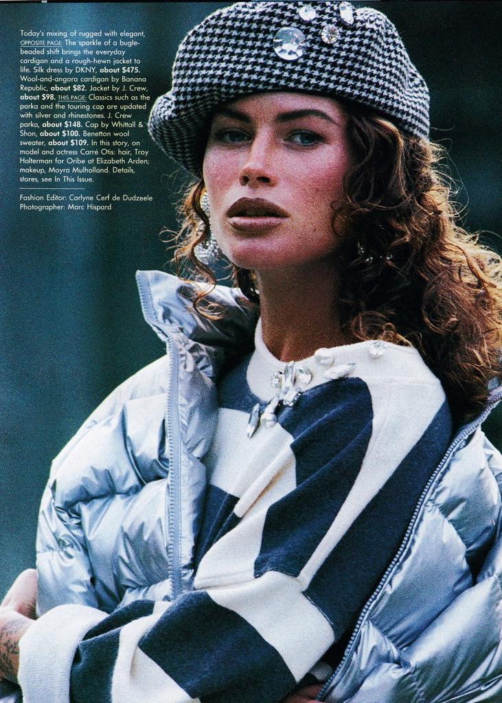 Vogue (US) October 1991 | Carre Otis 02.jpg