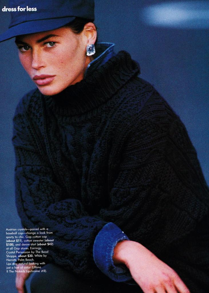 Vogue (US) October 1991 | Carre Otis 11.jpg