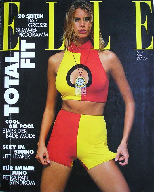 ELLE (Australia) October 1991 | Niki Taylor