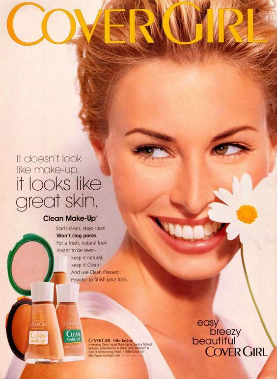 Covergirl Ad | Niki Taylor