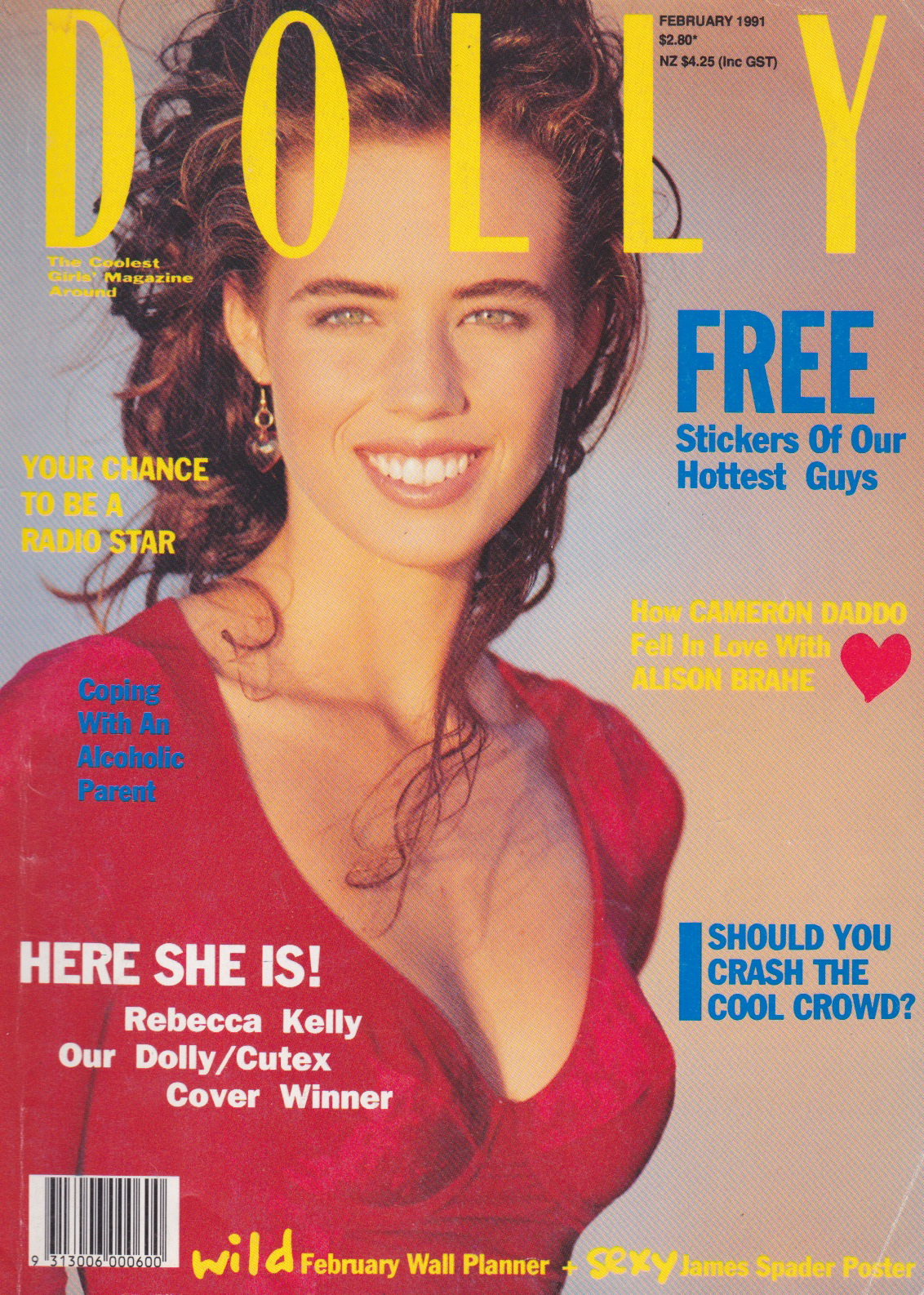 Dolly Magazine Covergirl Competition | 1991 Rebecca Kelly