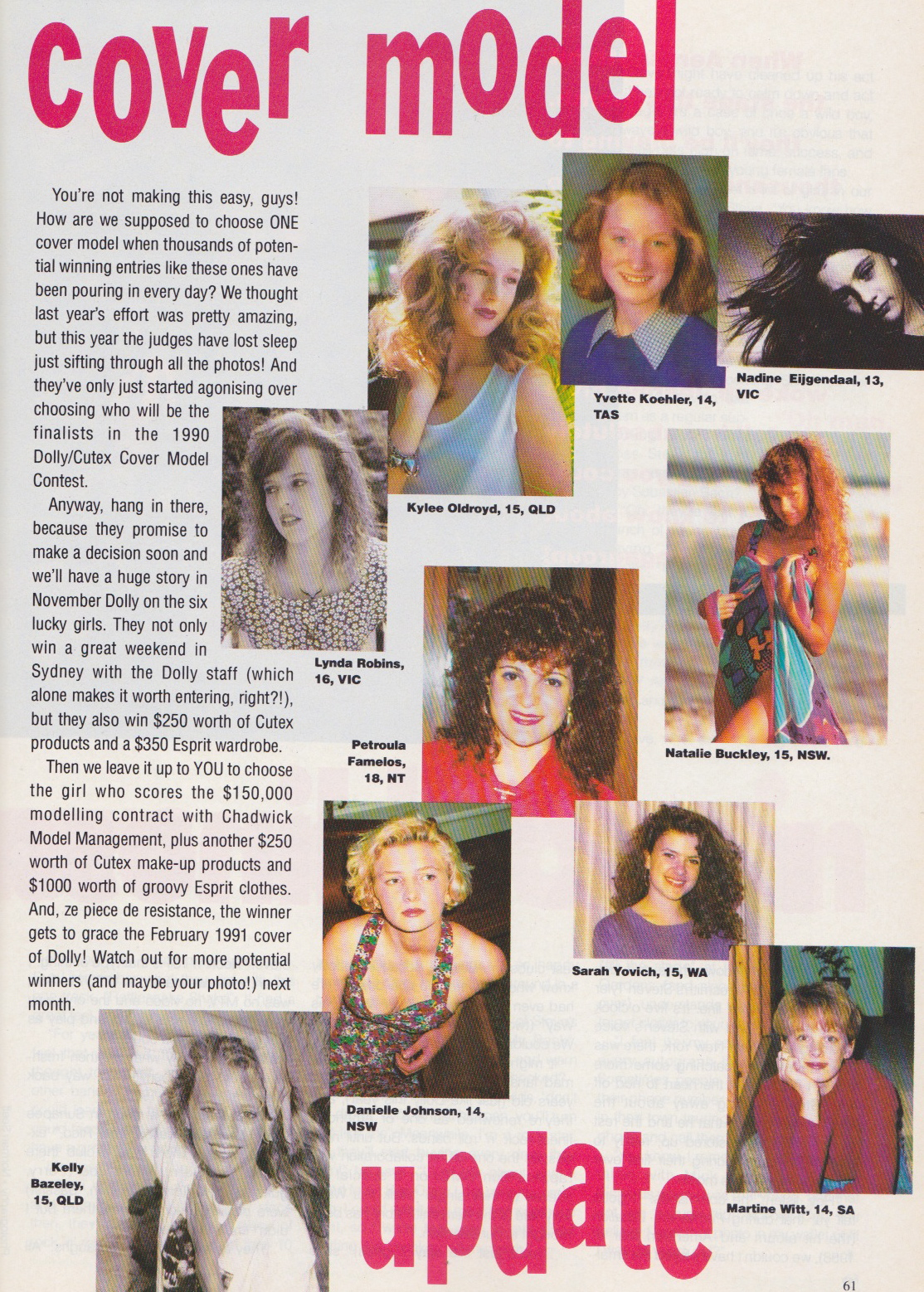 Dolly Covergirl Competition | 1990 Entrants 02.jpeg