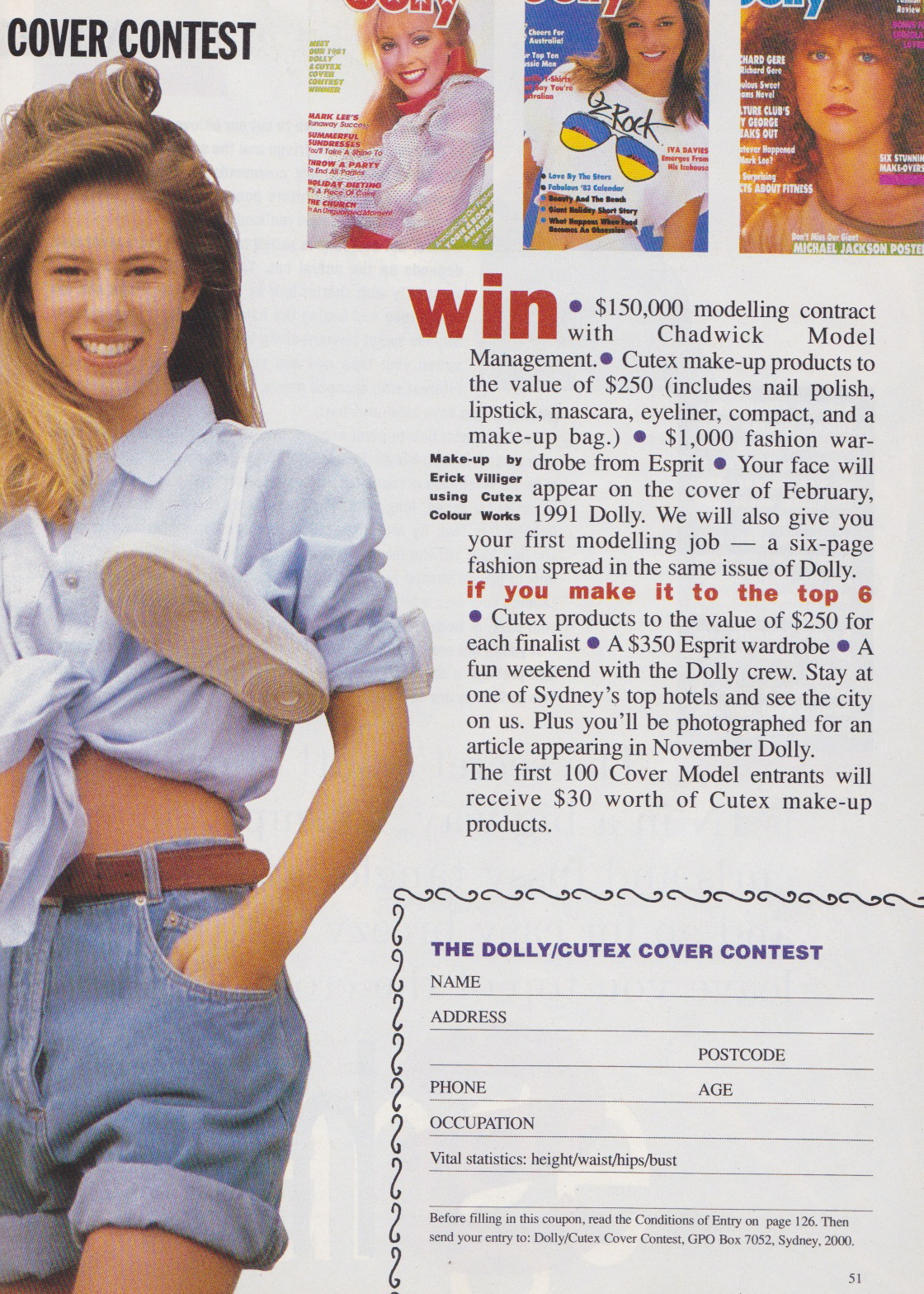 Dolly Covergirl Competition | 1990 Entry Form 02.jpeg