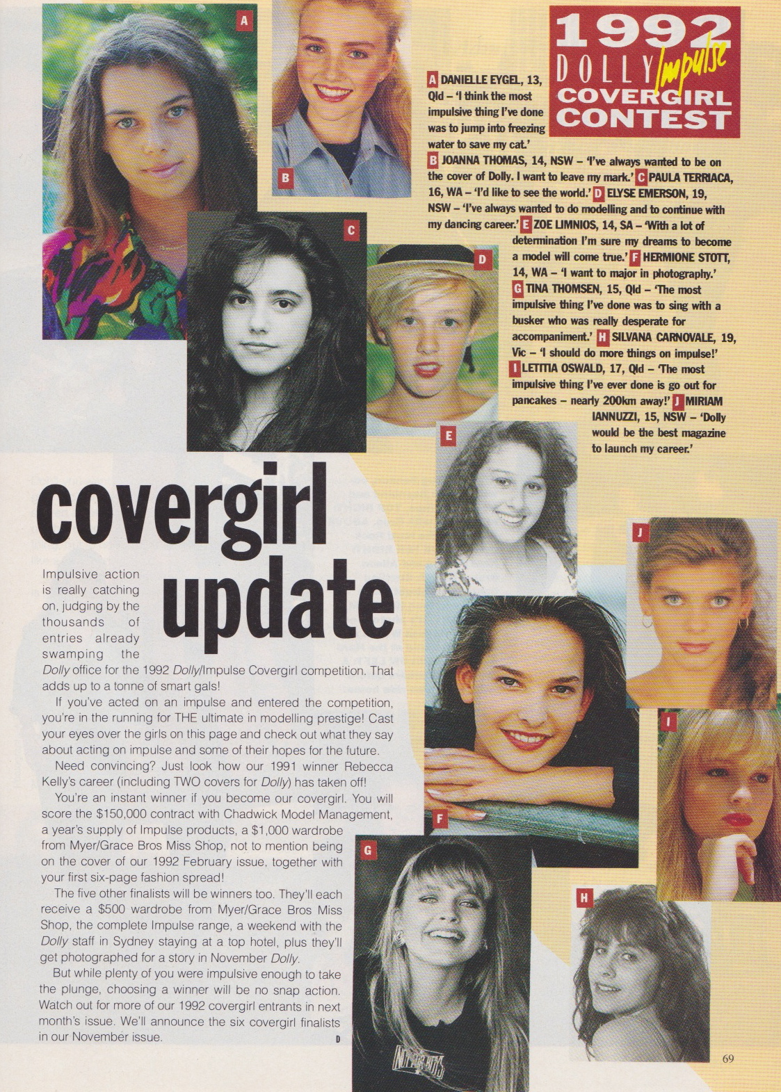 Dolly Covergirl Competition | 1991 Entrants 01.jpeg