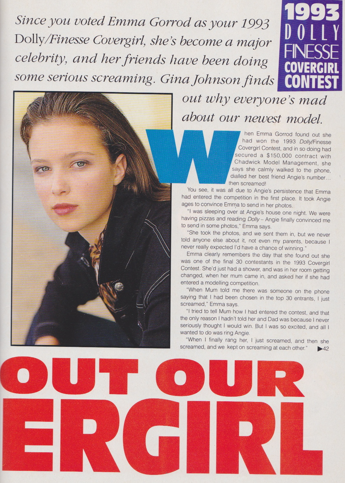 Dolly Covergirl Competition | 1993 Winner Emma Gorrod 02.jpeg