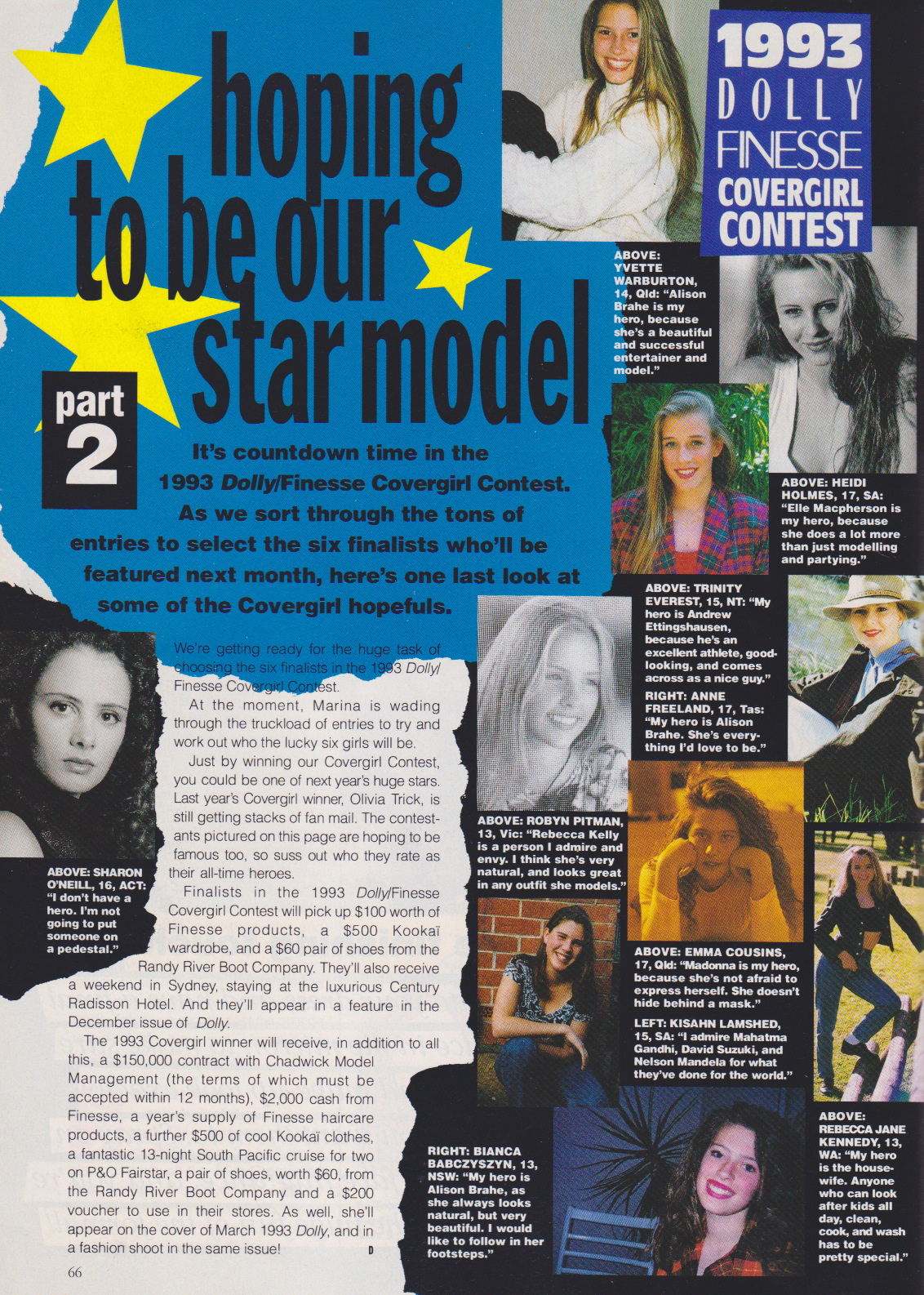 Dolly Covergirl Competition | 1992 Entrants.jpeg