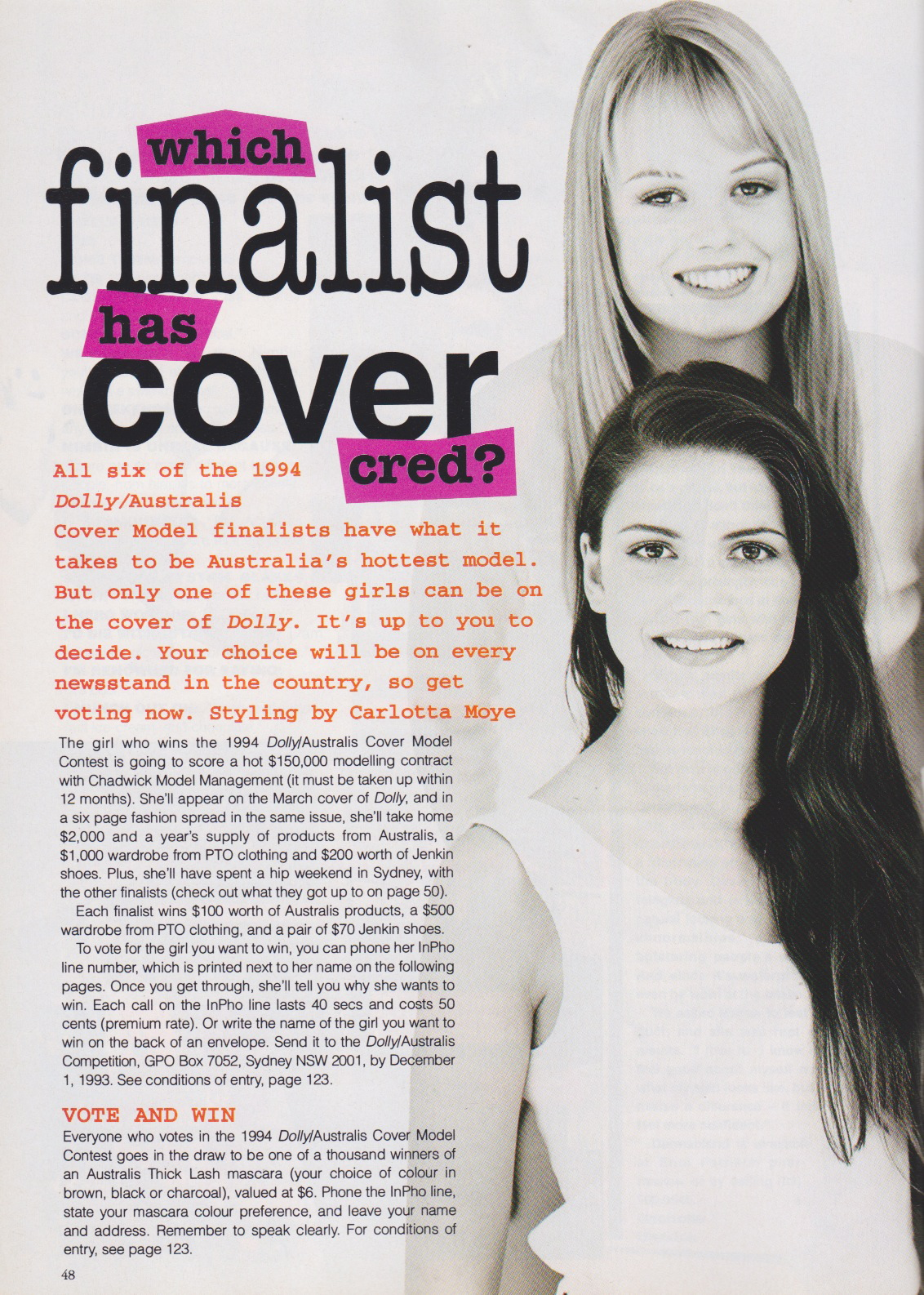 Dolly Covergirl Competition | 1993 Finalists 01.jpeg