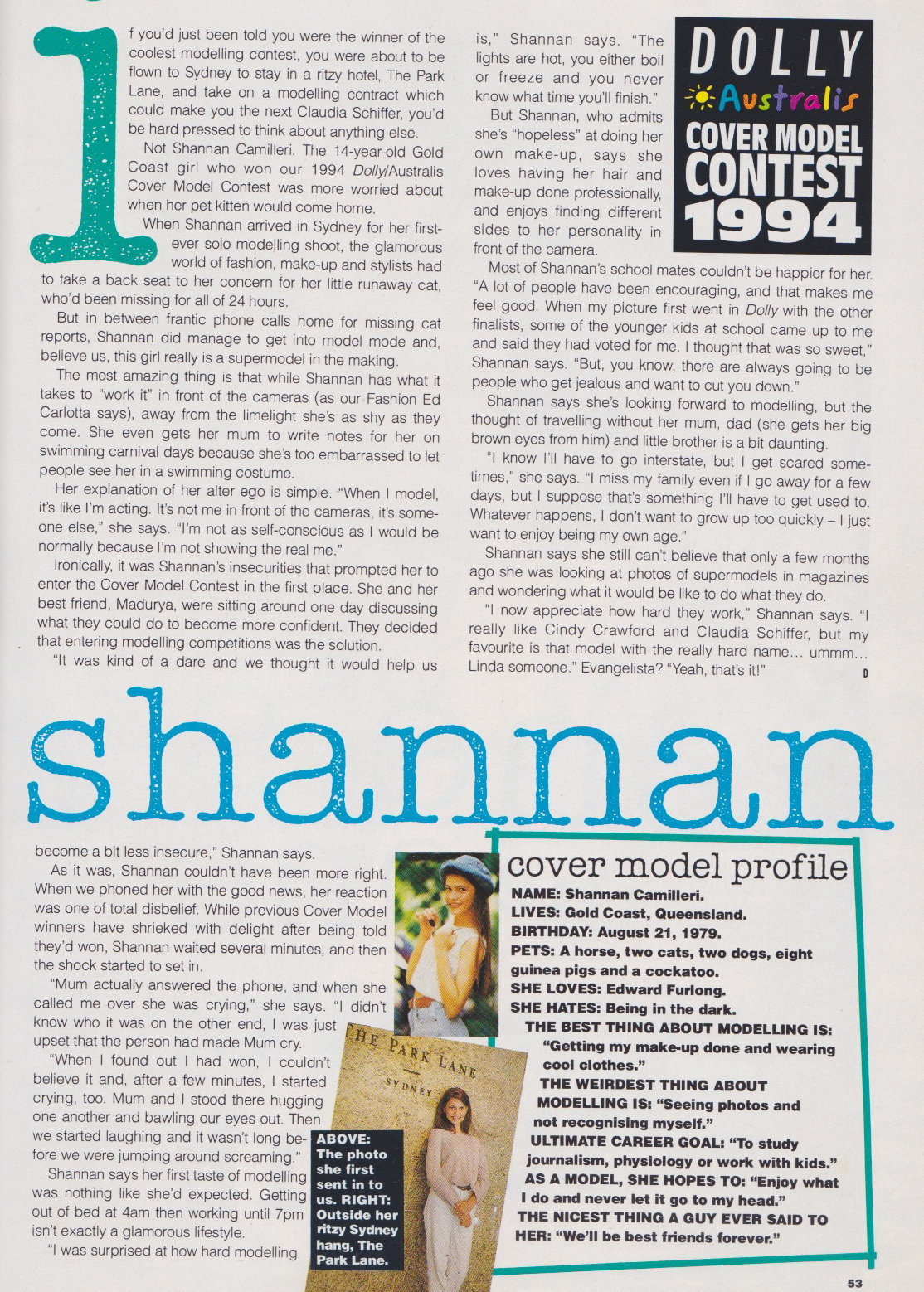 Dolly Covergirl Competition | 1994 Article (Winner) 02.jpeg