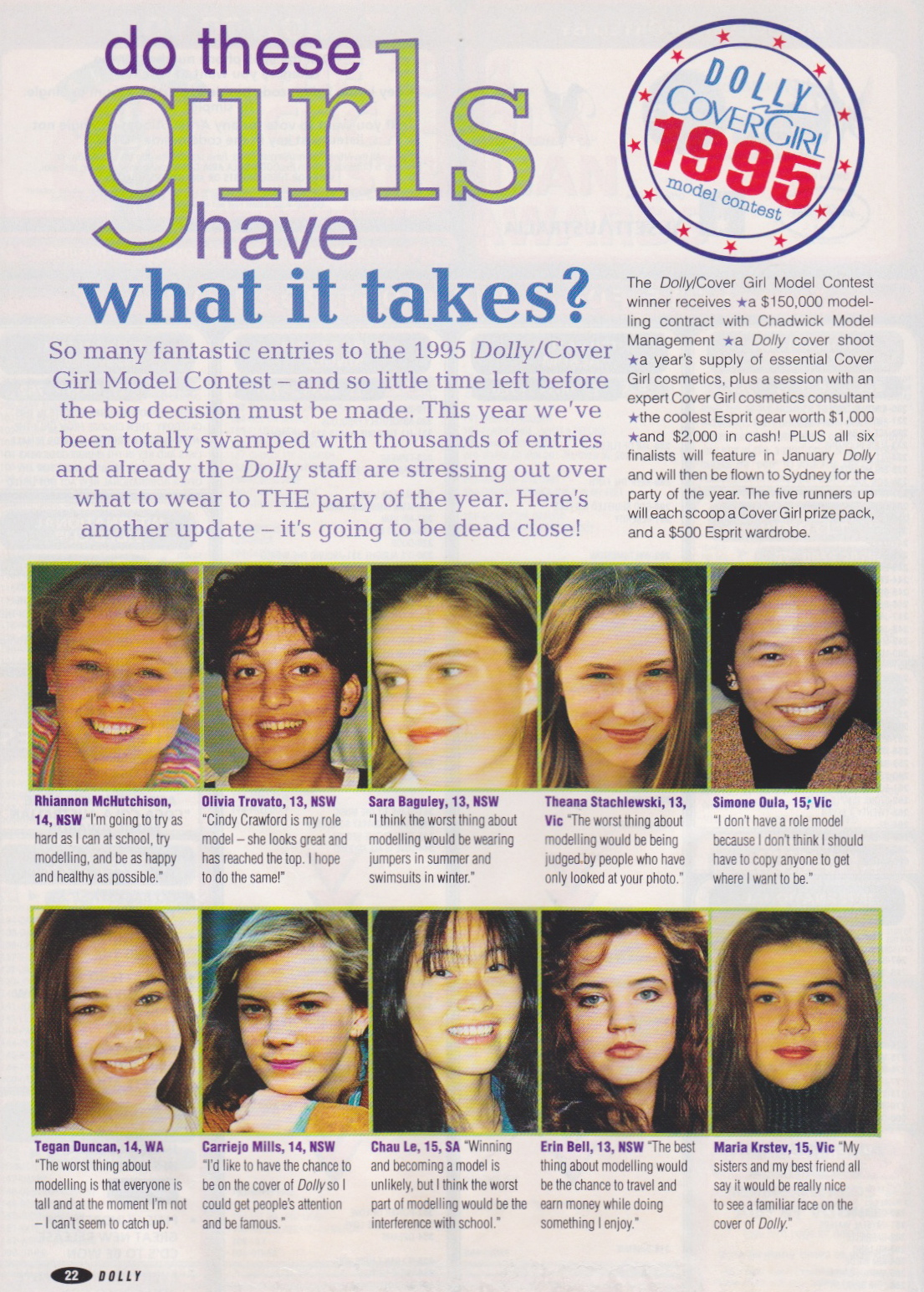 Dolly Covergirl Competition | 1994 Entrants 01.jpeg