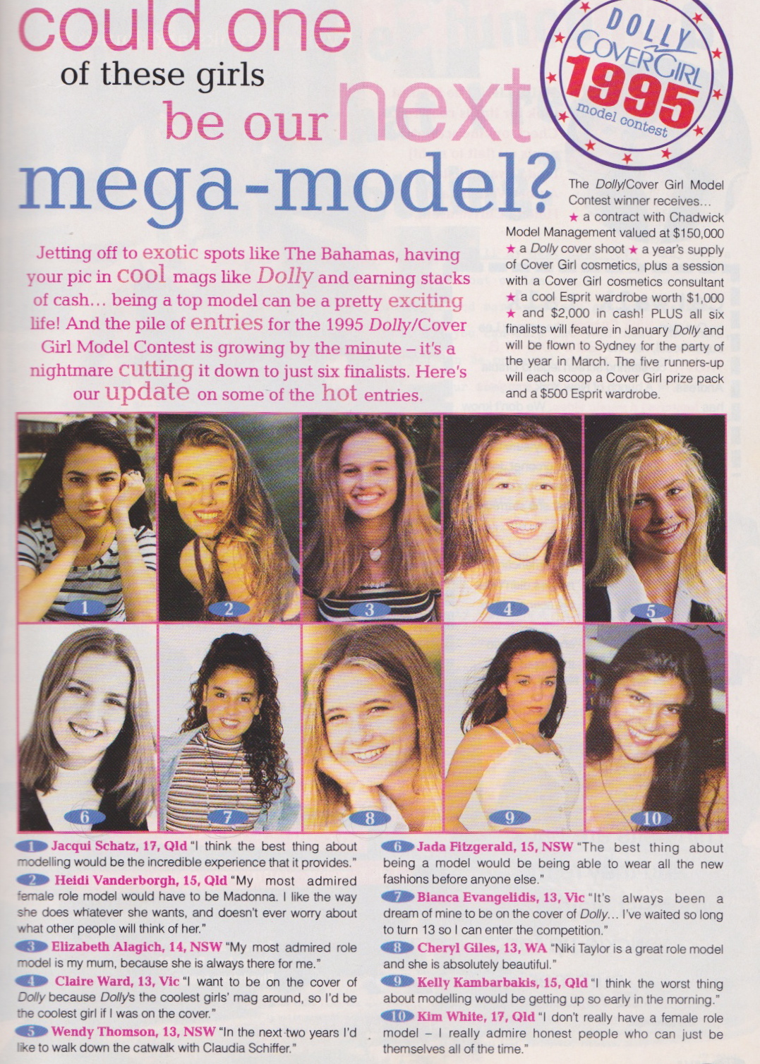 Dolly Covergirl Competition | 1994 Entrants 02.jpeg