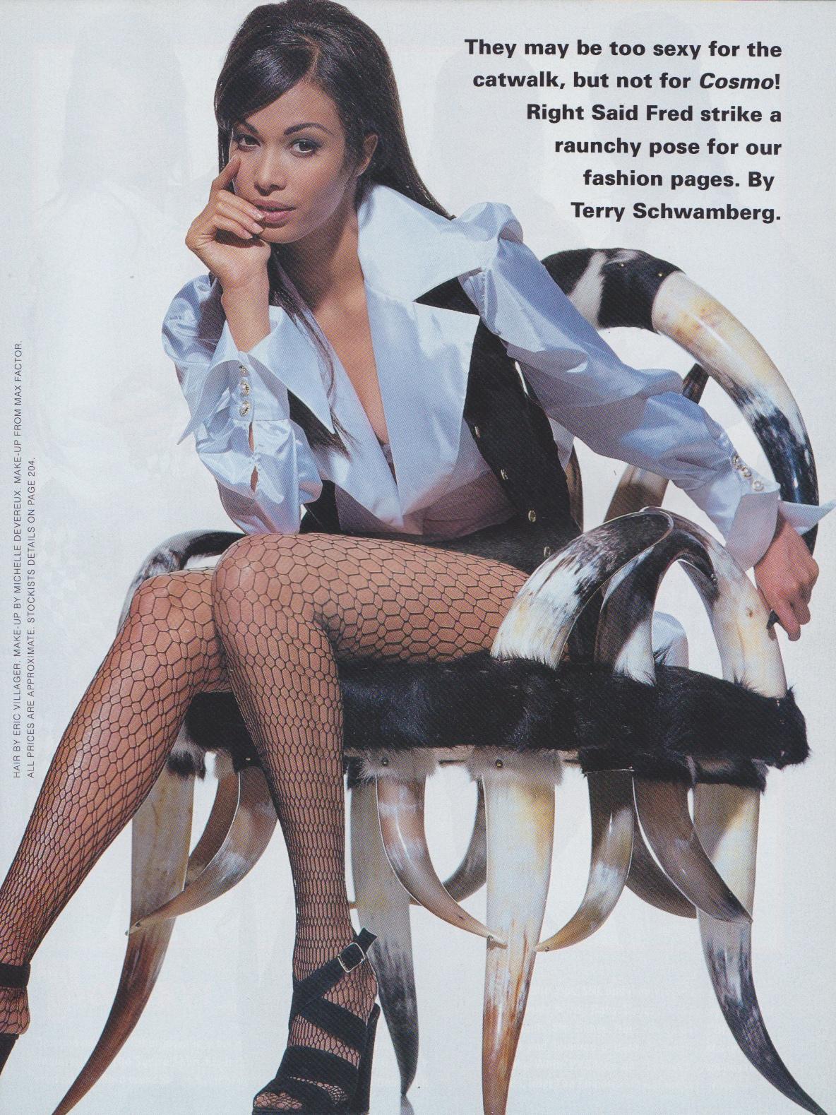 Cosmopolitan (Australia) October 1992 | Right Said Fred 02.jpeg