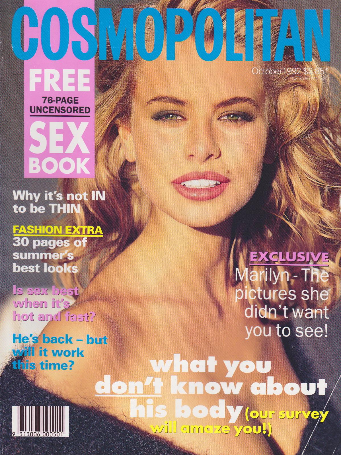 Cosmopolitan (Australia) October 1992 | Niki Taylor Cover