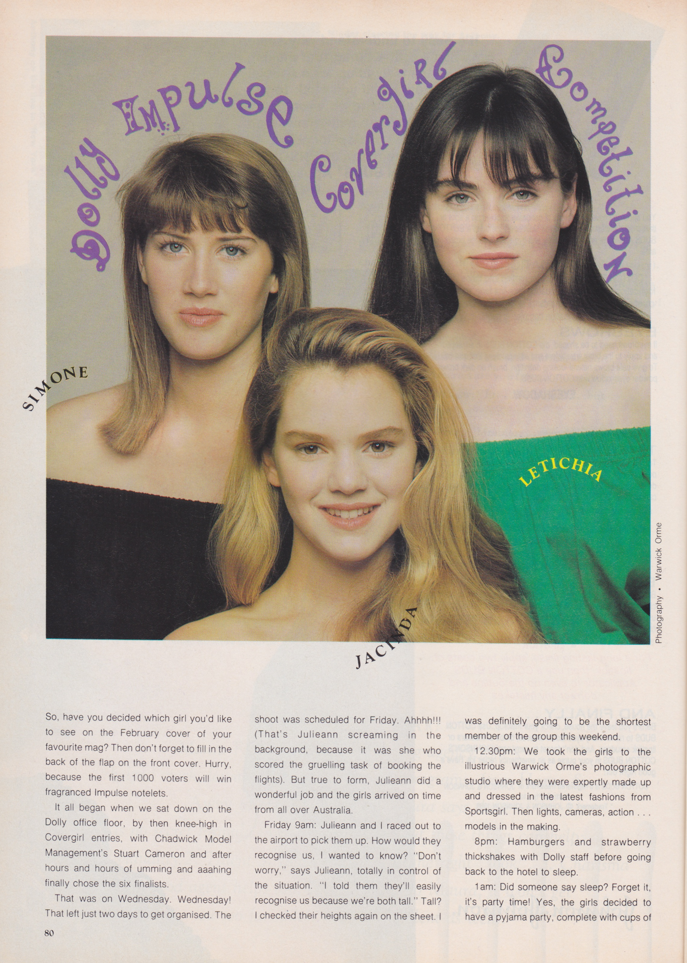 Dolly Covergirl Competition | 1989 Finalists 01.jpeg