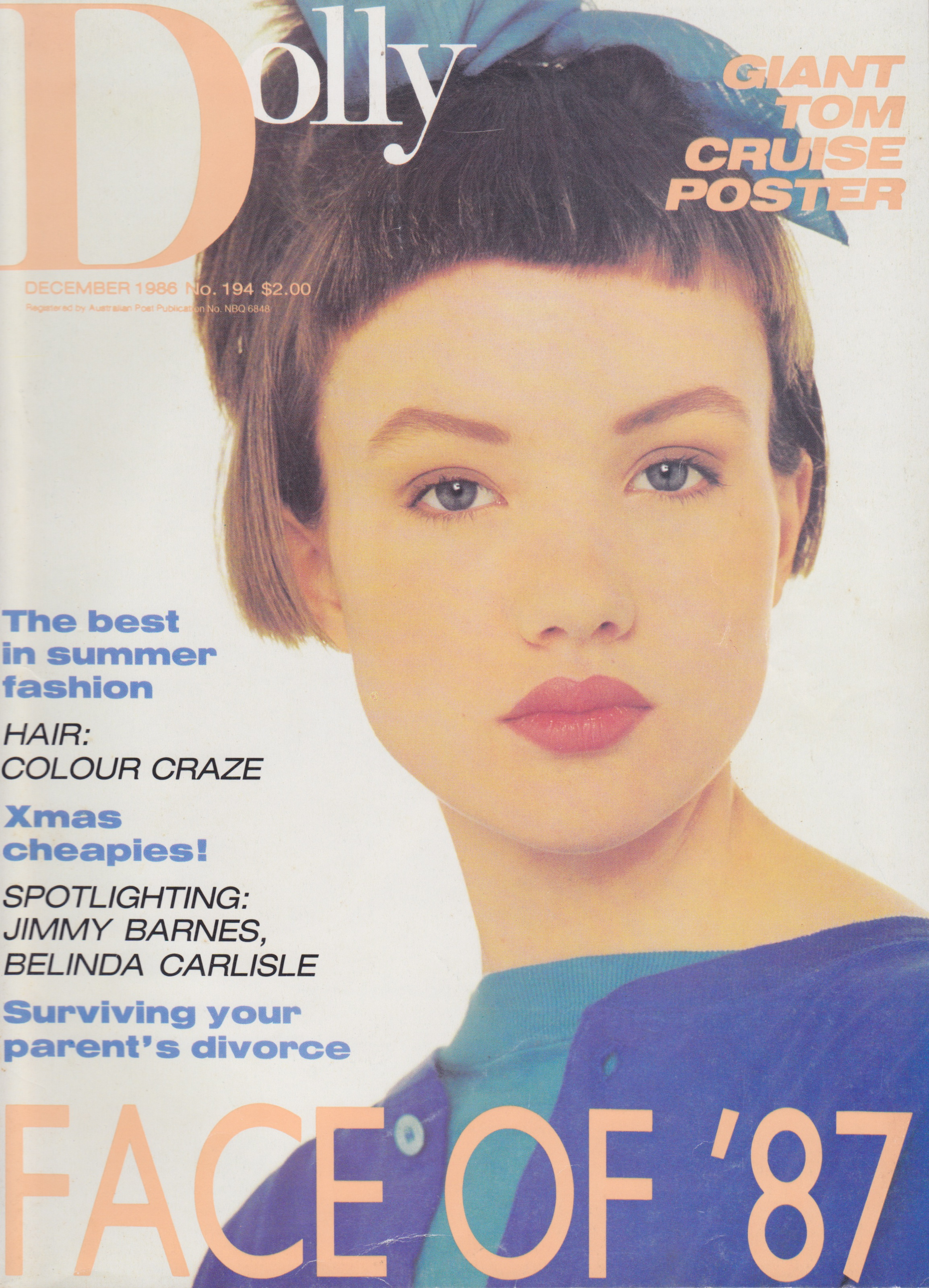 Dolly Magazine Covergirl Competition 1986 | Caitlin Jones