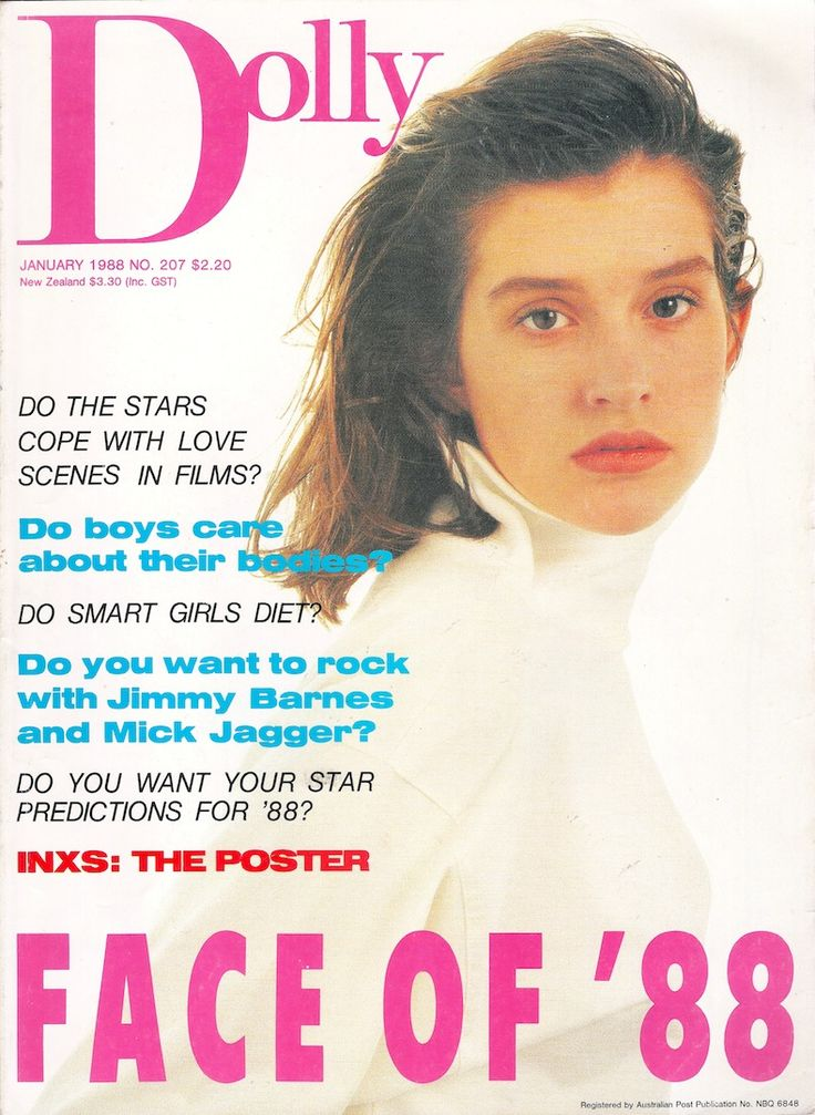 Dolly Covergirl Competition 1988 | Winner Kate Fischer