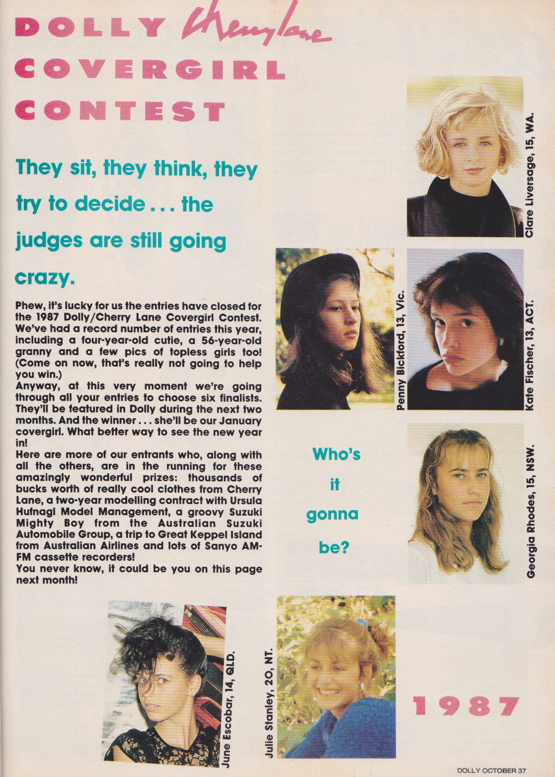 Dolly Covergirl Competition | 1987 Entrants 01.jpeg