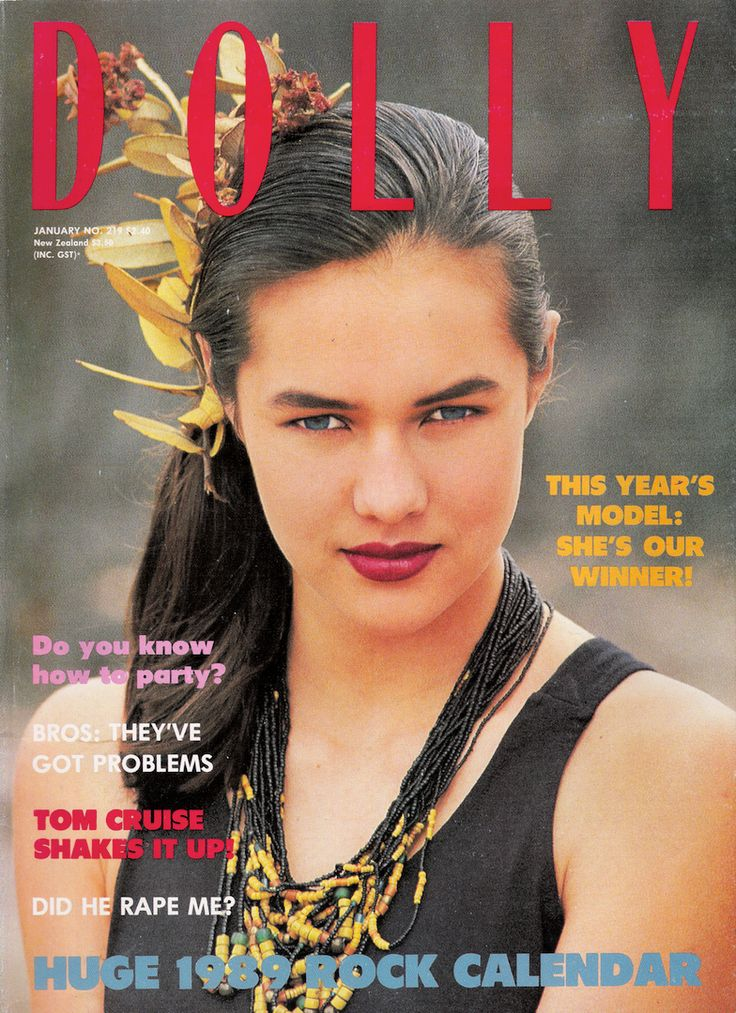 Dolly Covergirl Competition | 1989 Winner Natalie Kirk