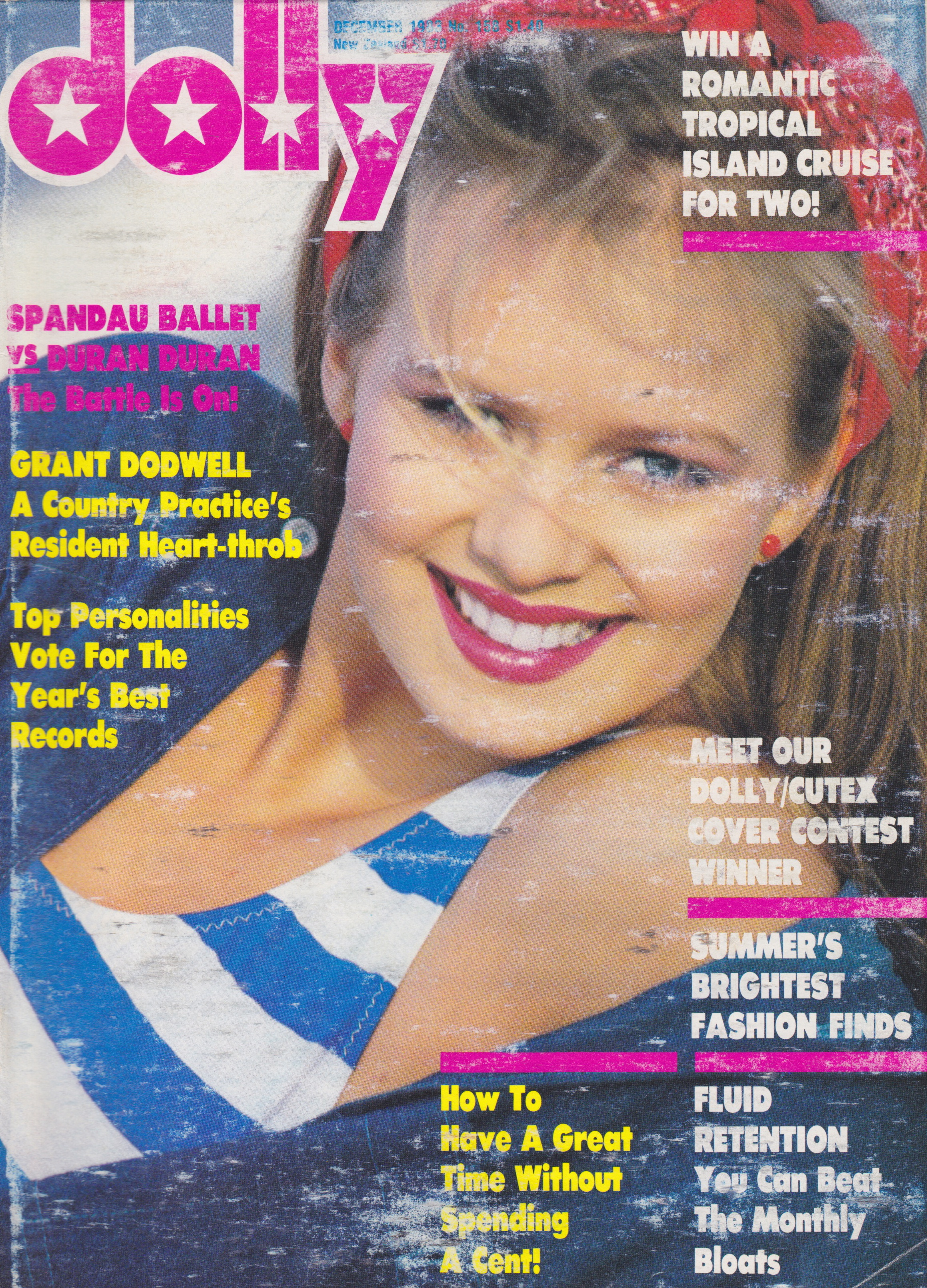 Dolly Magazine Covergirl Competition 1983 | Winner Samantha Ward