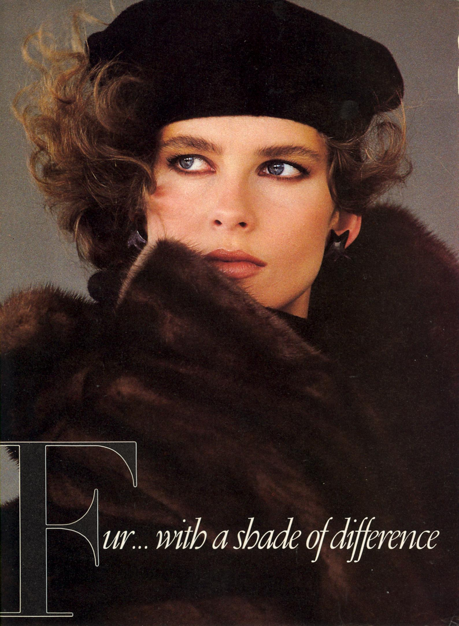 Vogue (US) December 1983 | Fur 01.jpg