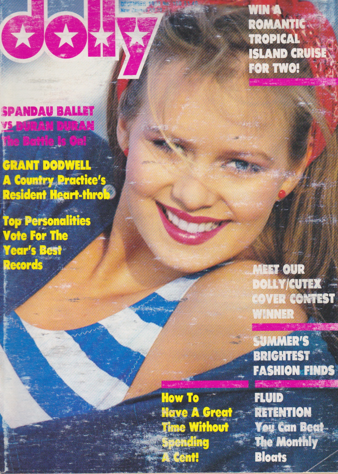 Dolly Magazine December 1983 | Samantha Ward