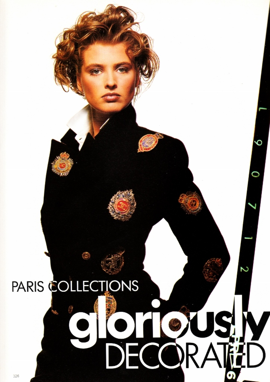 Vogue (UK) September 1988 | Gloriously Decorated 01.jpg