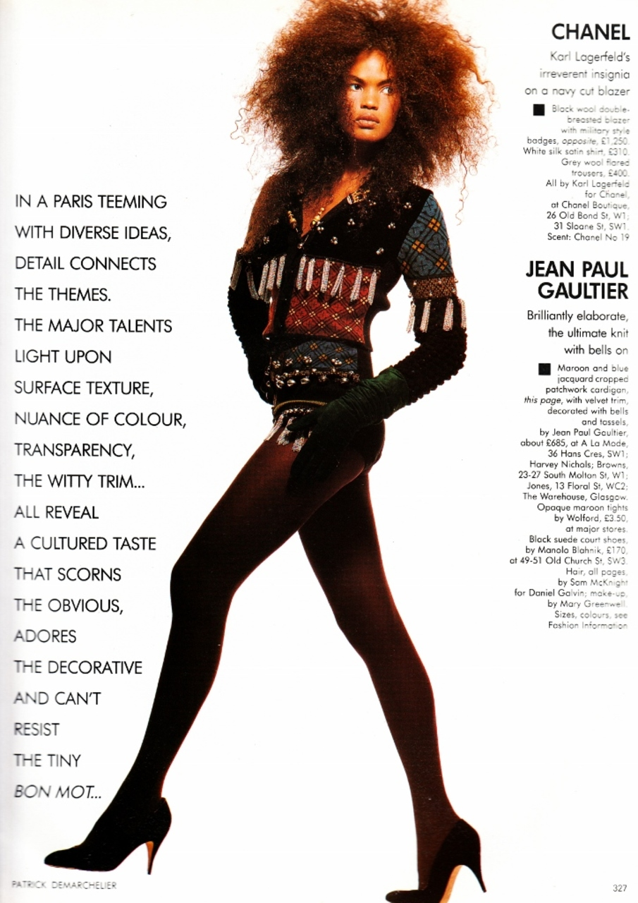 Vogue (UK) September 1988 | Gloriously Decorated 02.jpg