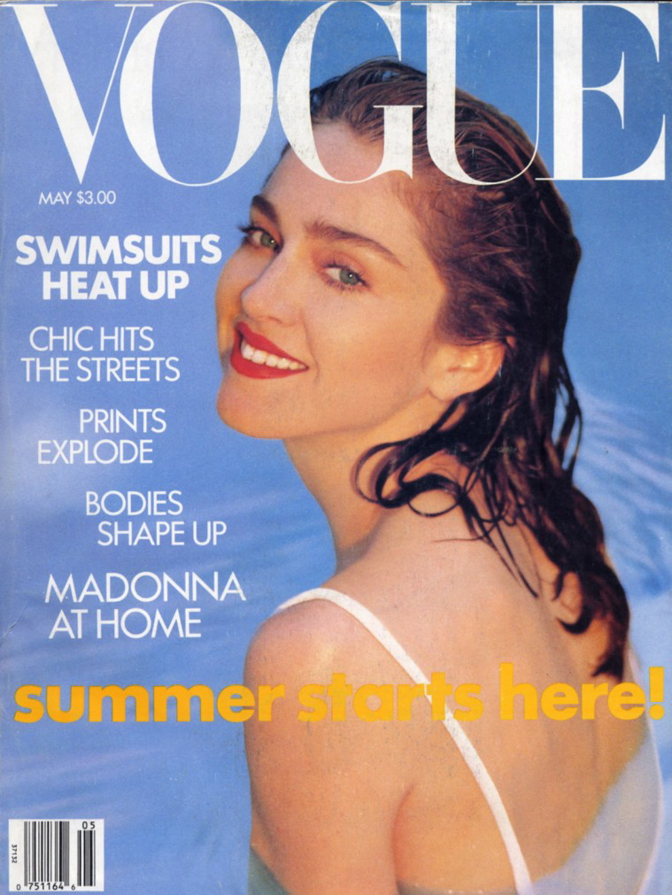 Vogue (US) May 1989 | Madonna by Patrick Demarchelier