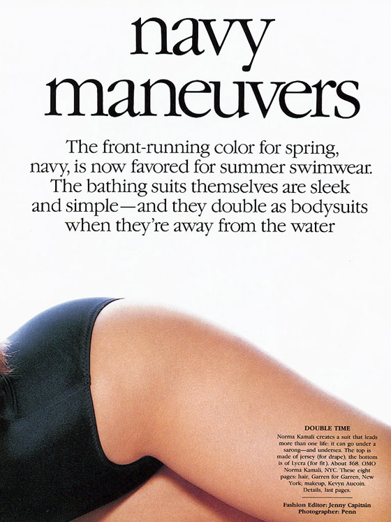 Vogue (US) May 1989 | Navy Maneuvers | Cindy Crawford 02.jpg