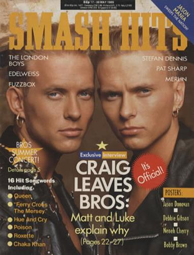 Bros | Smash Hits Magazine 01.jpg