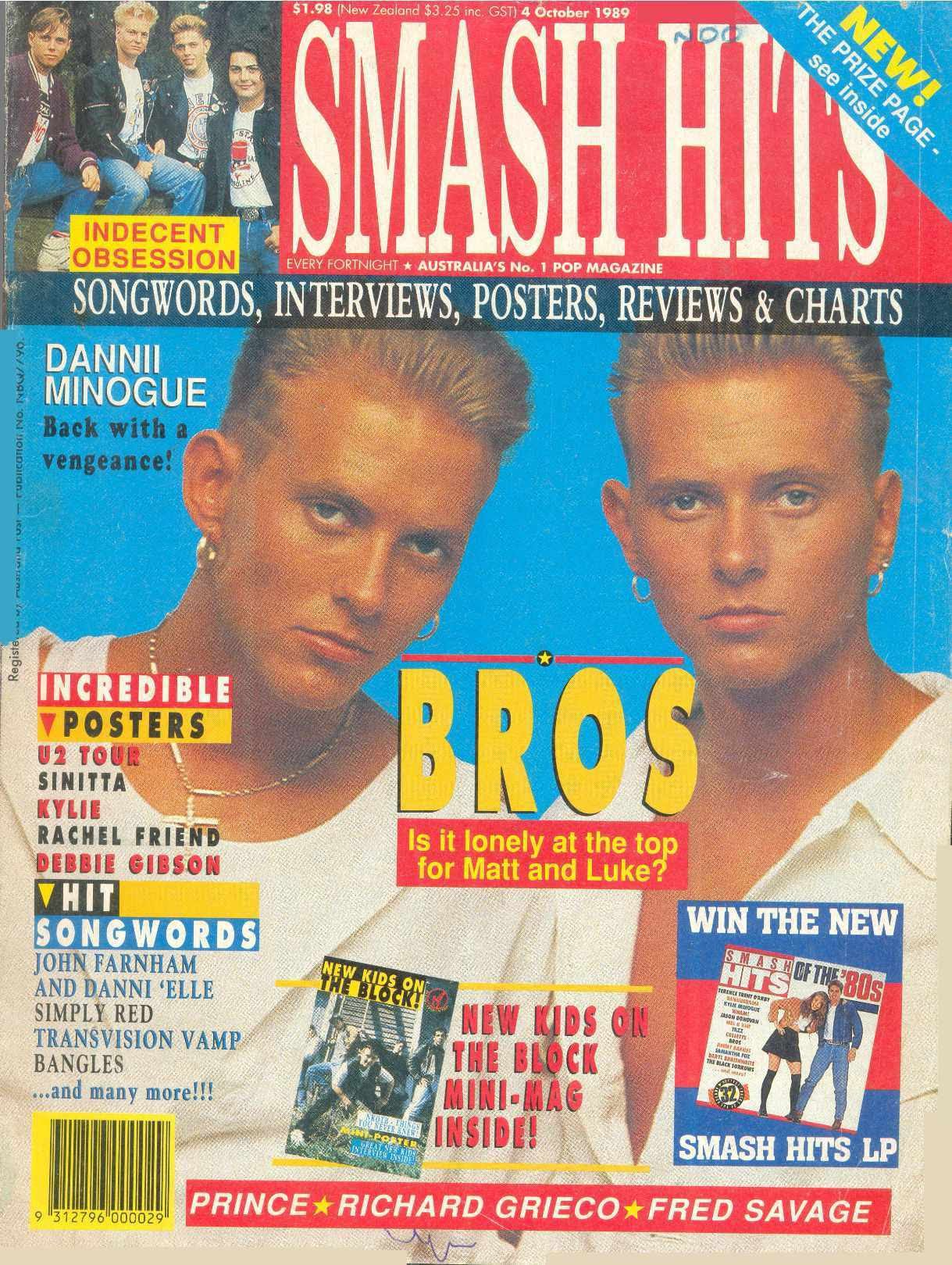 Bros | Smash Hits Magazine 02.jpg