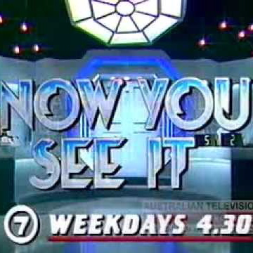 Now You See It   Game Show Logo
