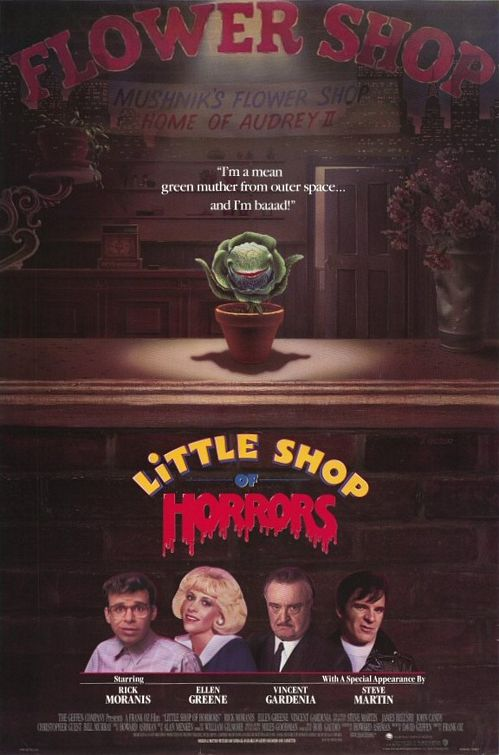 Little Shop Of Horrors (1986) | Movie Poster