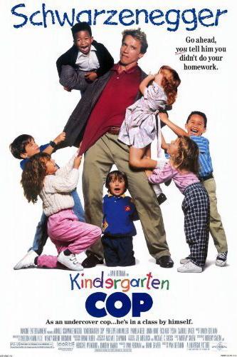 Kindergarten Cop | Movie Poster