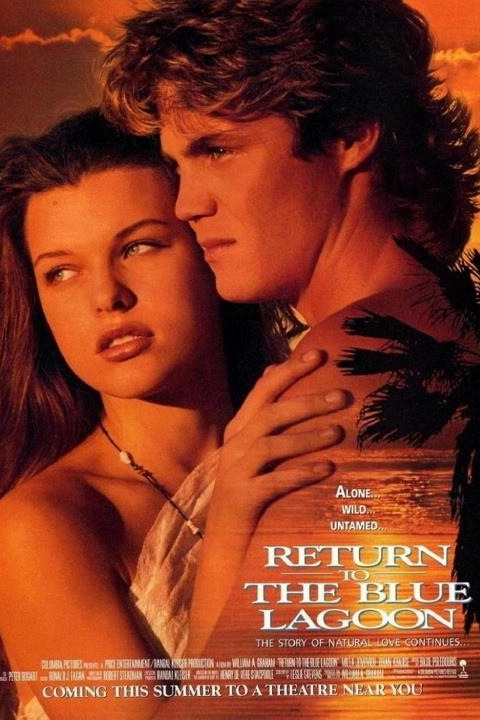 Return To The Blue Lagoon | Movie Poster