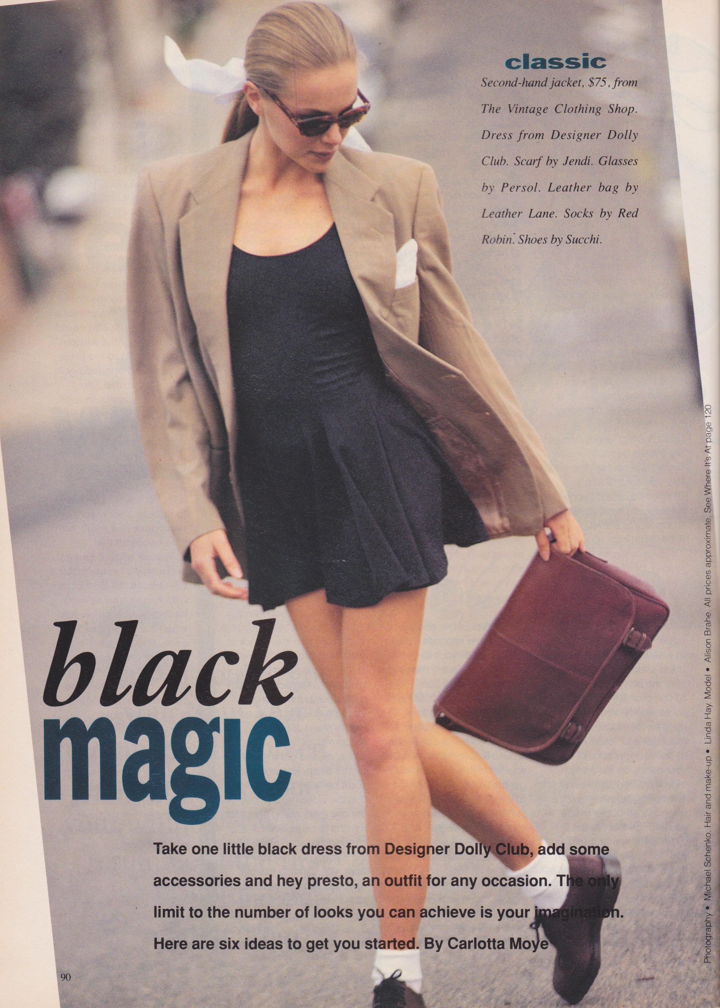 Dolly January 1991 | Alison Brahe | Black Magic 01.jpeg