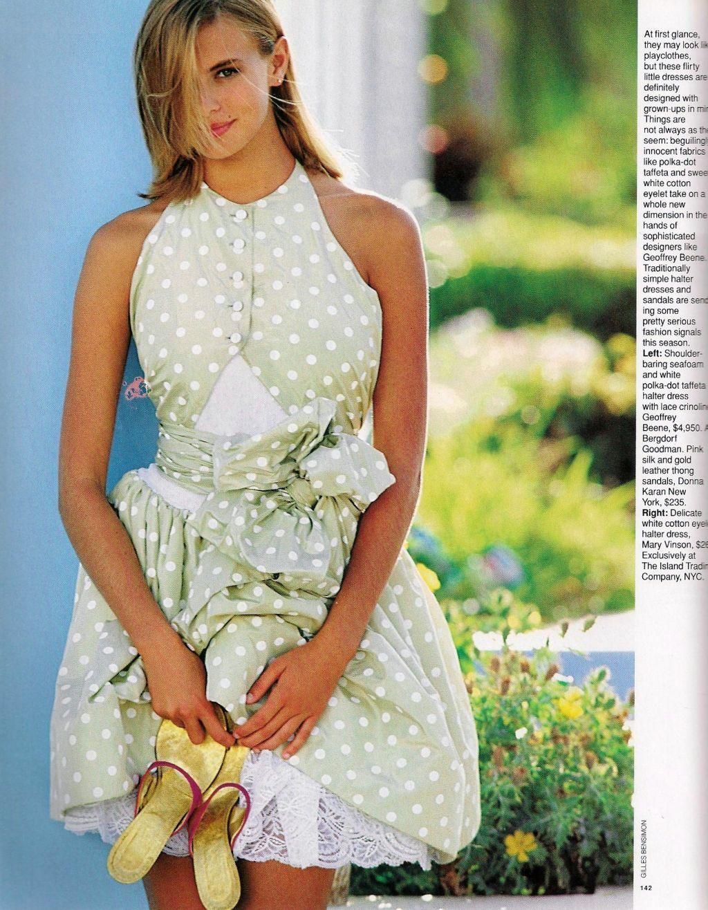 Elle (US) January 1991 | Baby Doll 05.jpg