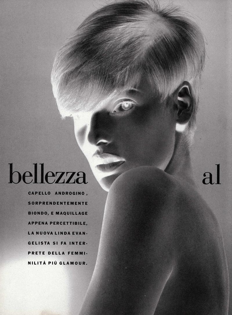 Vogue (Italia) January 1991 | Linda Evangelista 01.jpg
