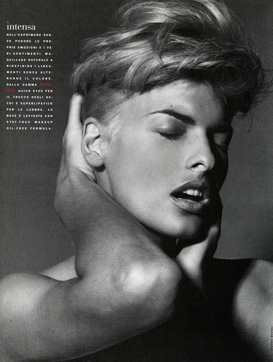 Vogue (Italia) January 1991 | Linda Evangelista 06.jpg
