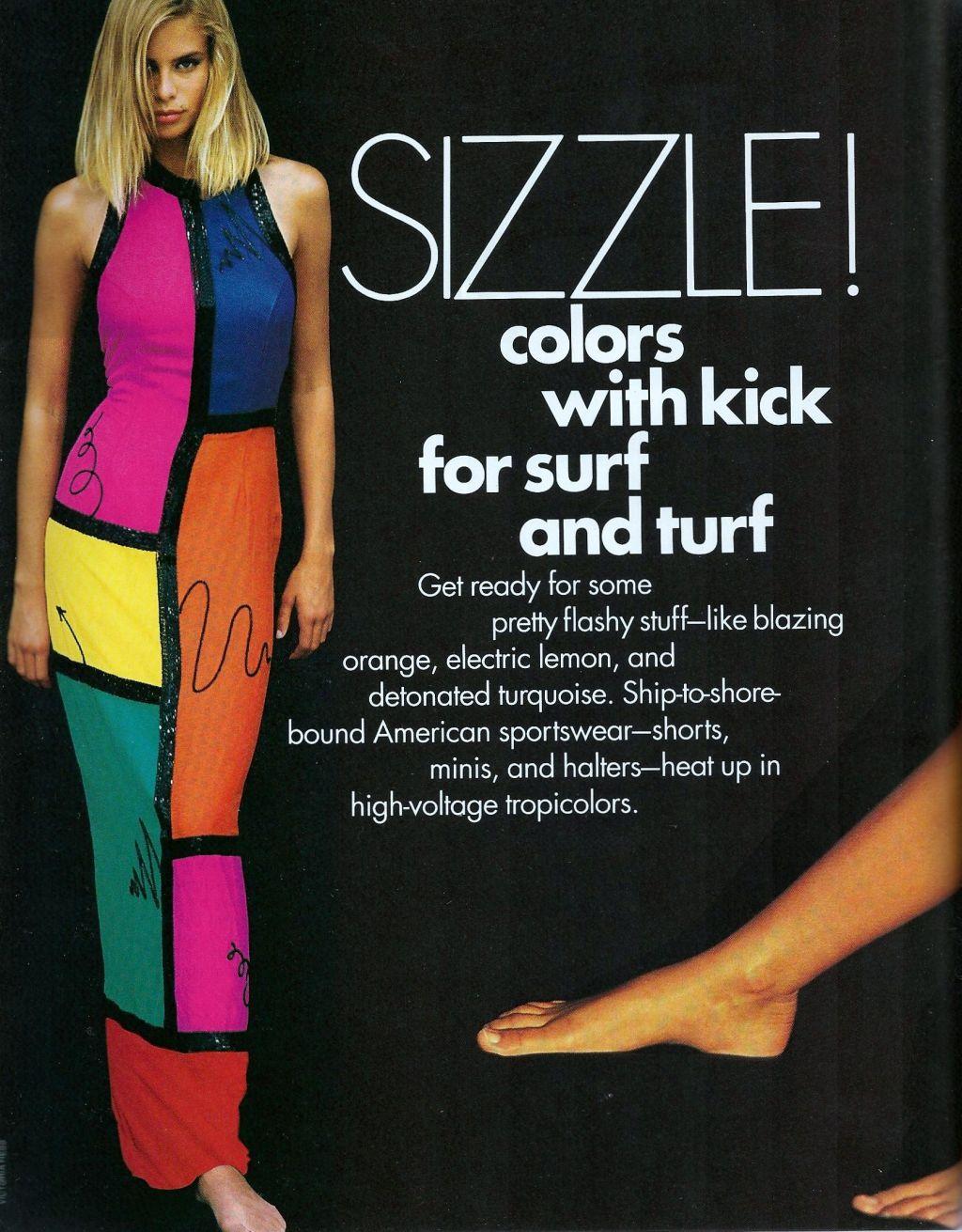 Elle (US) January 1991 | Sizzle 01.jpg