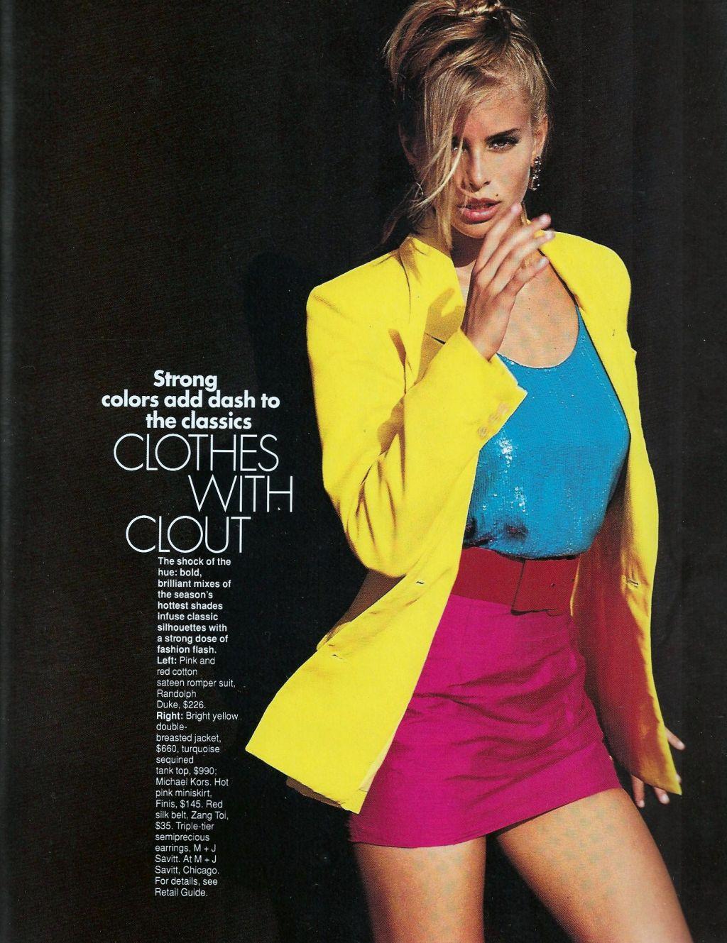 Elle (US) January 1991 | Sizzle 04.jpg