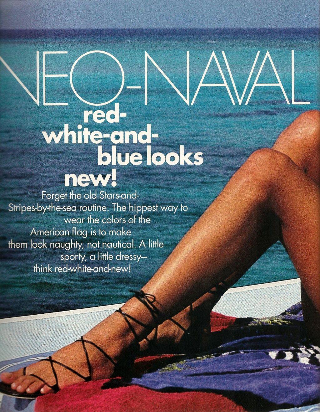 Elle (US) January 1991 | Neo-Naval 01.jpg
