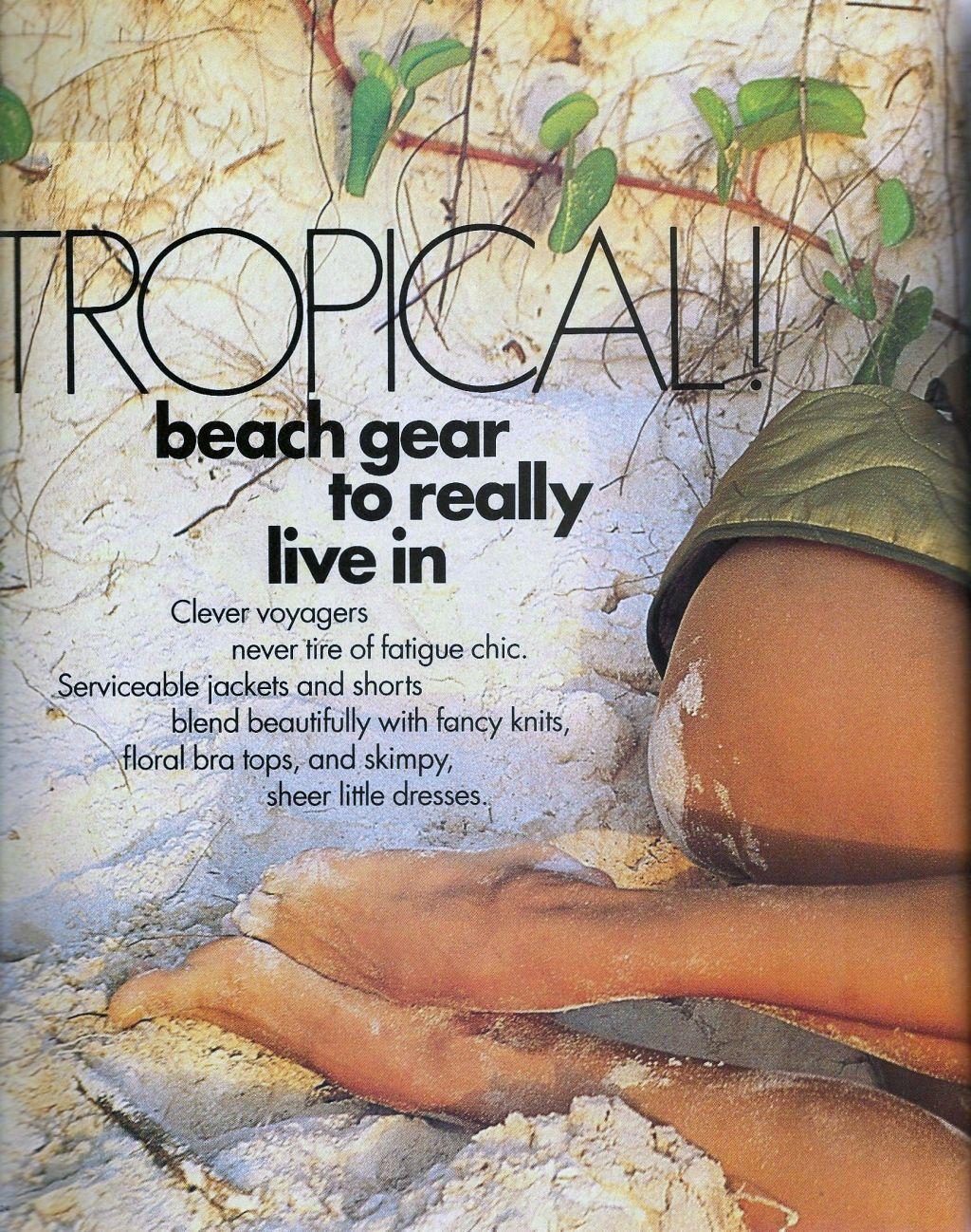 Elle (US) January 1991 | Tropical 01.jpg
