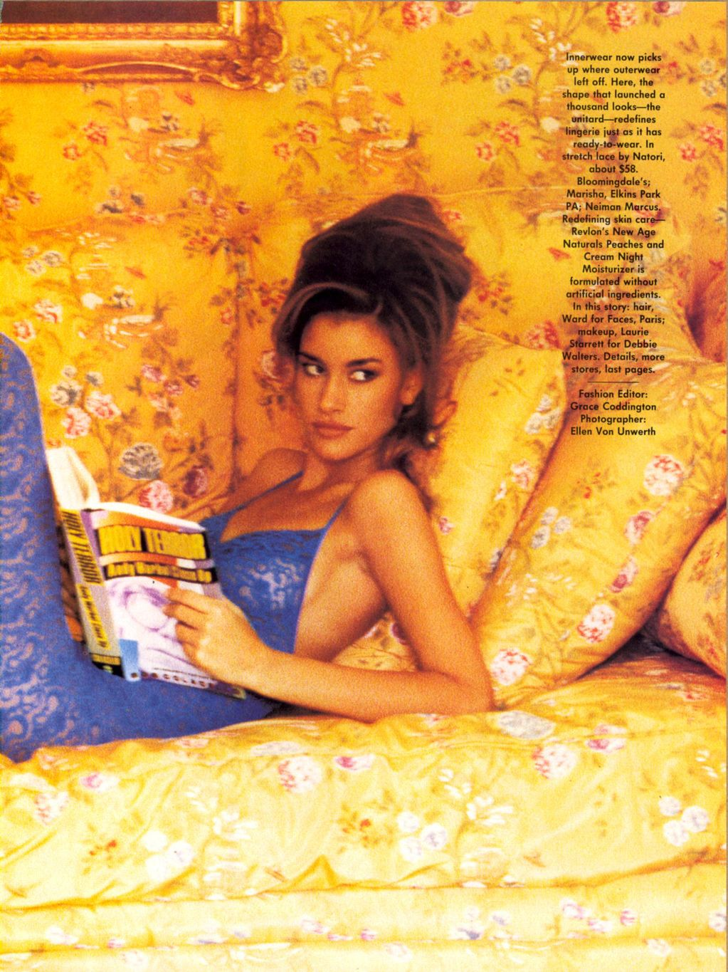 Vogue (US) January 1991 | Time Out 02.jpg