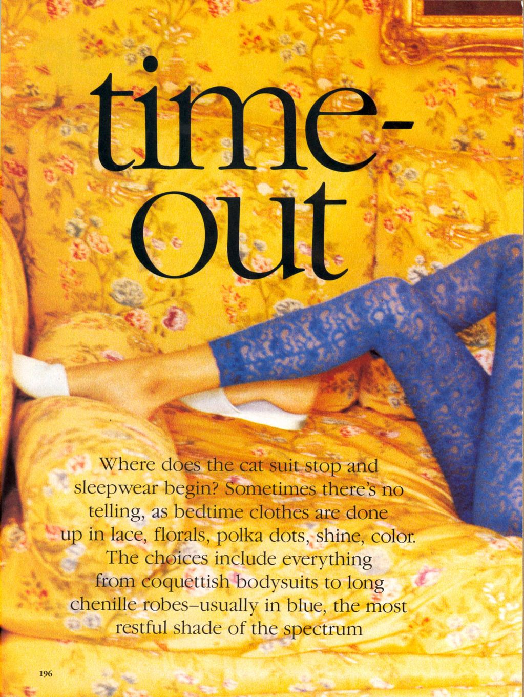 Vogue (US) January 1991 | Time Out 01.jpg