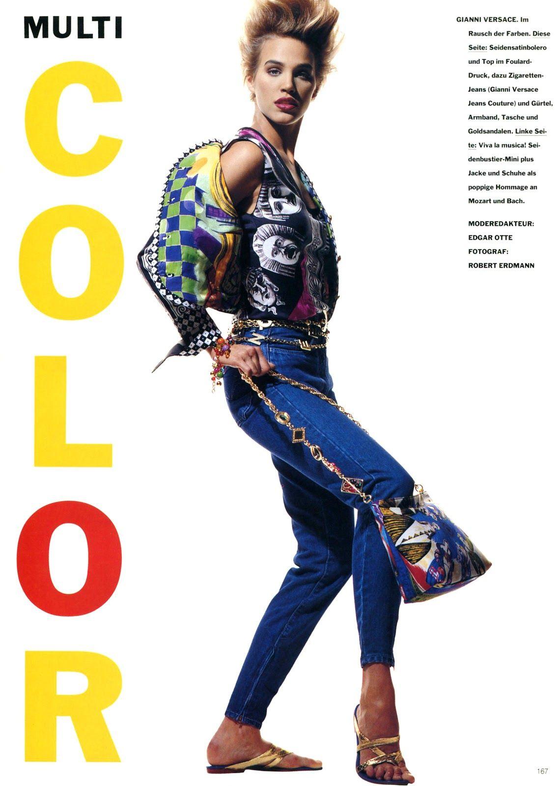 Vogue (Germany) January 1991 | Multi Color 02.jpg