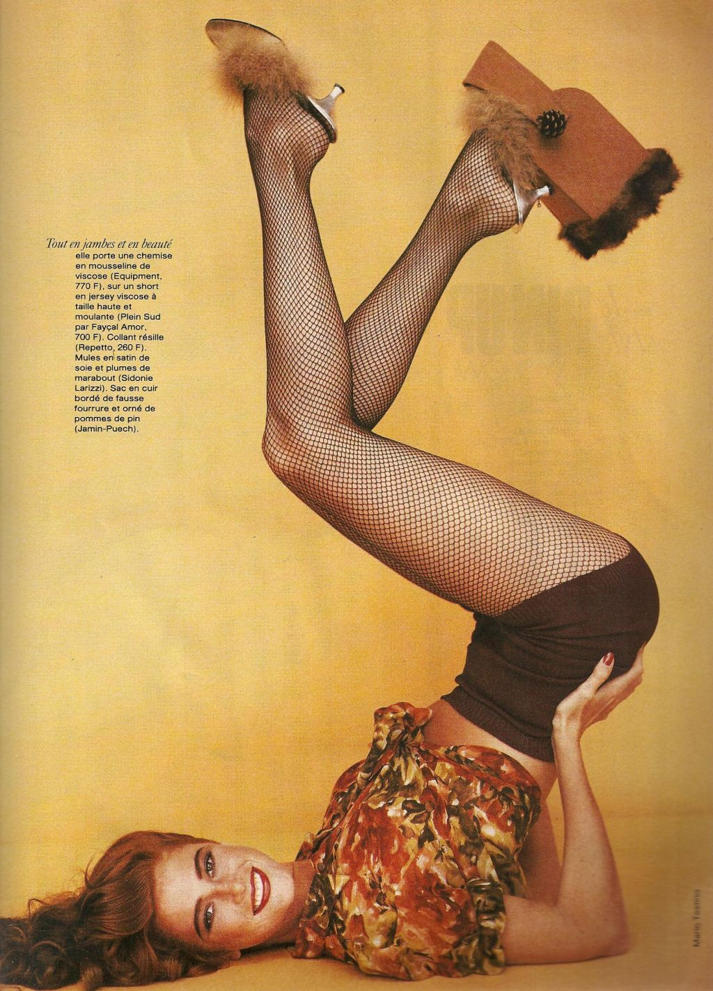 Elle (France) January 1991 | Le Pin-up Style 04.jpg