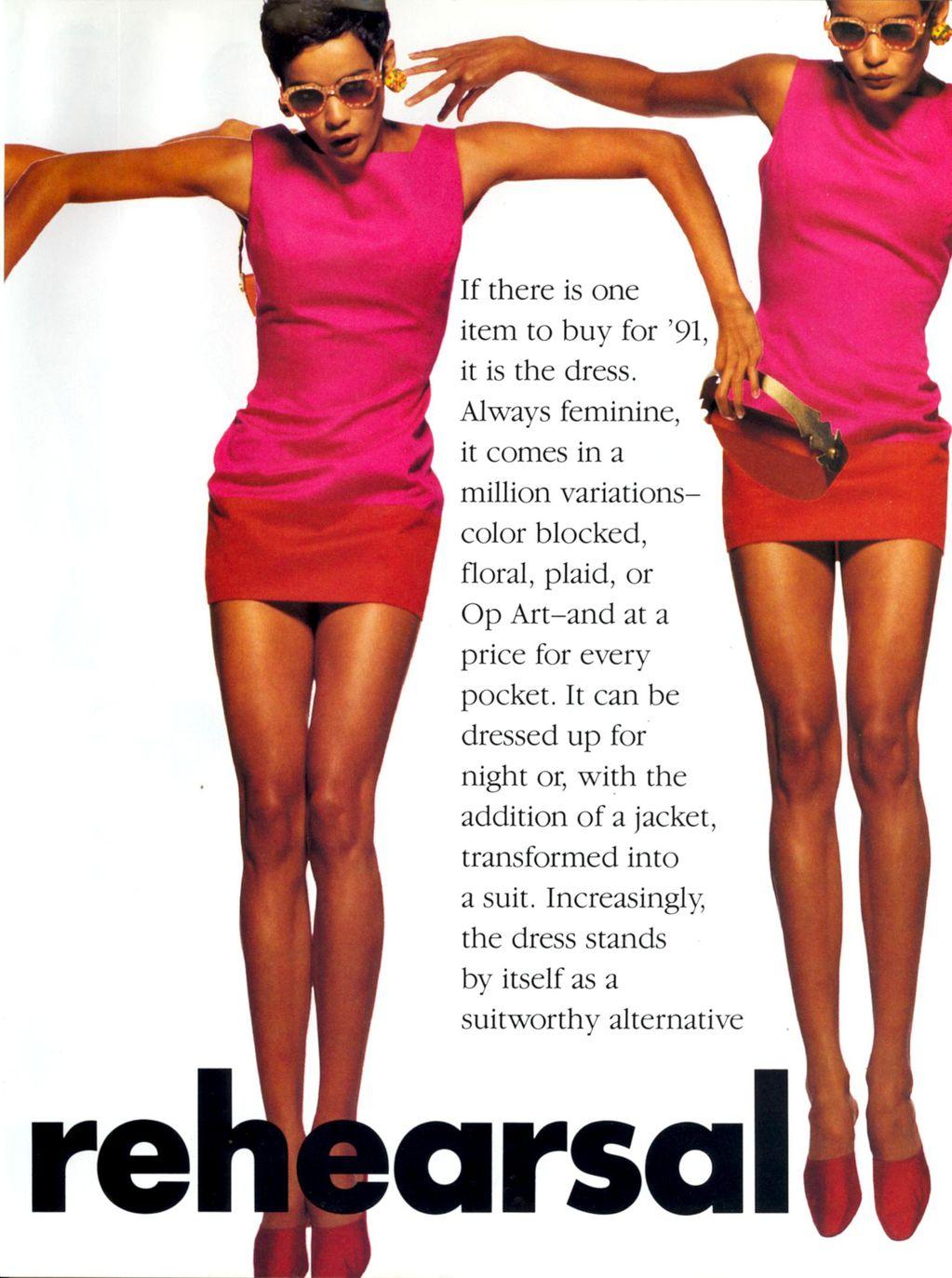 Vogue January 1991 | Great Buys - Dress Rehearsal 02.jpg