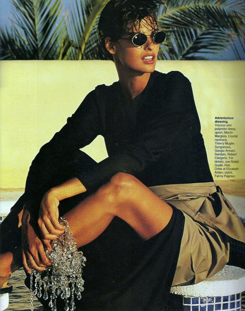 Elle (US) January 1991 | Getaway 02.jpg